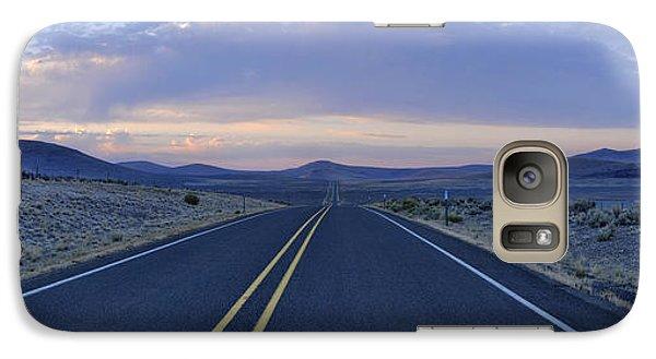 Galaxy Case featuring the photograph Pastel Sunrise by Sebastien Coursol