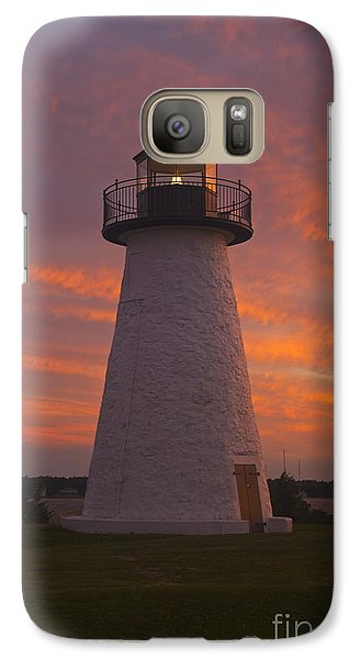 Galaxy Case featuring the photograph Pastel Sunset At Ned'spoint by Amazing Jules