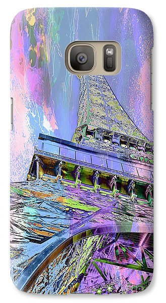 Pastel Tower Galaxy Case by Az Jackson