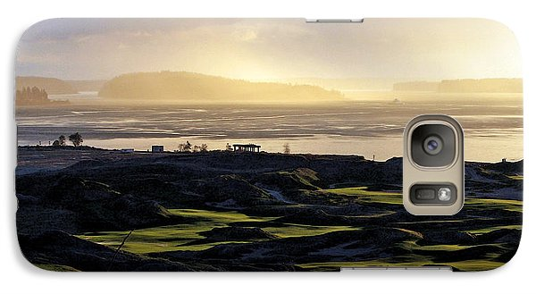 Galaxy Case featuring the photograph Pastoral Symphony - Chambers Bay Golf Course by Chris Anderson