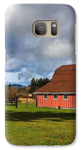 Galaxy Case featuring the photograph Pasture For Rent by Jean OKeeffe Macro Abundance Art