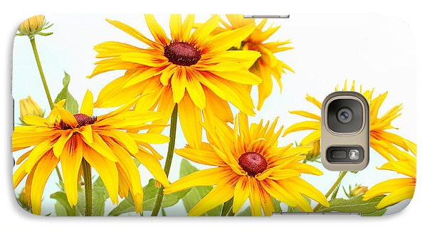 Galaxy Case featuring the photograph Patch Of Black-eyed Susan by Steve Augustin