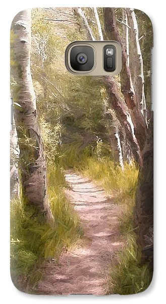 Galaxy Case featuring the photograph Path 1 by Pamela Cooper