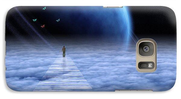 Galaxy Case featuring the digital art Path by Bruce Rolff