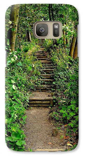 Path Into The Forest Galaxy S7 Case