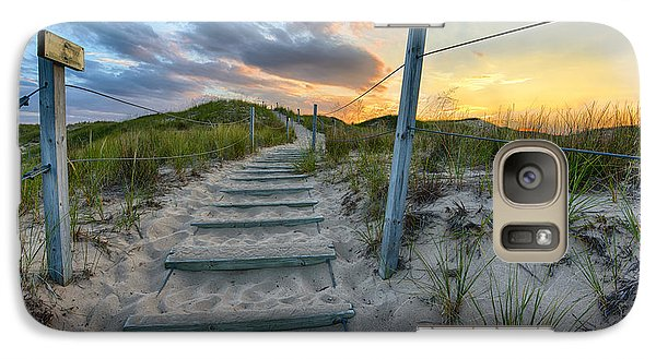 Path Over The Dunes Galaxy S7 Case by Sebastian Musial