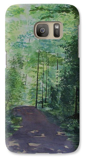 Galaxy Case featuring the painting Path To The River by Martin Howard