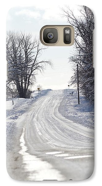 Galaxy Case featuring the photograph Path To The Unknown by Dacia Doroff