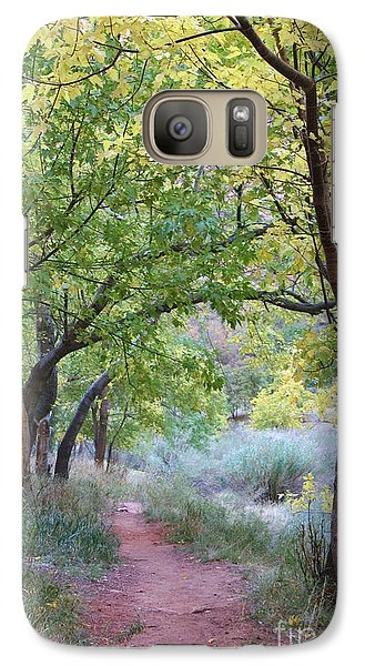 Galaxy Case featuring the photograph Pathway To Heaven by Mary Lou Chmura