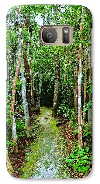 Galaxy Case featuring the photograph Pathway To The Rainforest by Kicking Bear  Productions