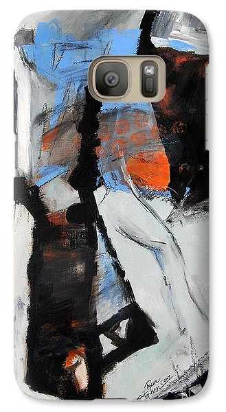 Galaxy Case featuring the painting Pathways by Ron Stephens