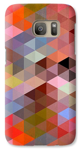 Pattern Of Triangle Galaxy S7 Case by Mark Ashkenazi