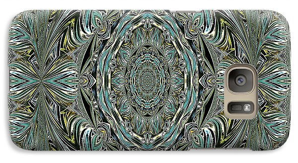 Galaxy Case featuring the photograph Pattern. Art For Home And Office by Oksana Semenchenko
