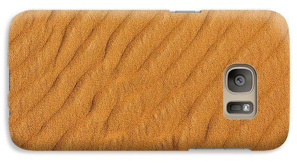 Galaxy Case featuring the photograph Patterned Sand by Justin Albrecht