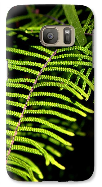 Galaxy Case featuring the photograph Pauched Coral Fern by Miroslava Jurcik