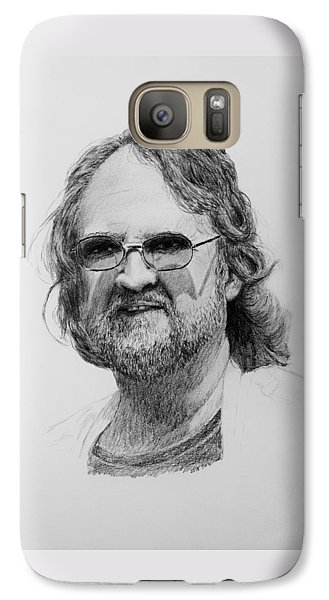 Galaxy Case featuring the drawing Paul Rebmann by Daniel Reed