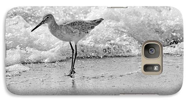 Sandpiper Galaxy S7 Case - Pause by Betsy Knapp