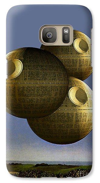 Galaxy Case featuring the digital art Pawn by Sasha Keen