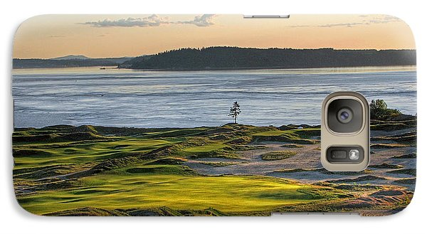 Galaxy Case featuring the photograph Pax - Chambers Bay Golf Course by Chris Anderson
