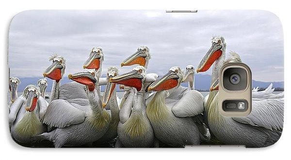 Pelican Galaxy S7 Case - Pay Attention Pleaseeeeeeeee by Julio Lozano Brea