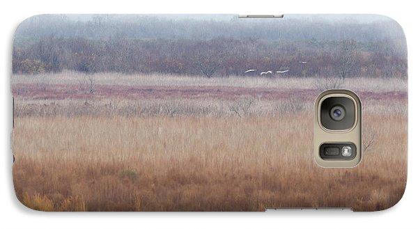 Galaxy Case featuring the photograph Paynes Prairie White Birds by Paul Rebmann