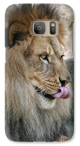 Galaxy Case featuring the photograph Pbbbt by Judy Whitton