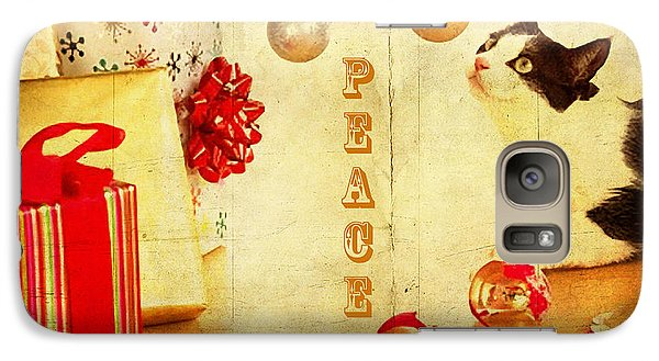 Galaxy Case featuring the photograph Peace And Joy To All by Chris Armytage