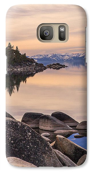 Galaxy Case featuring the photograph Peace And Serenity by Nancy Marie Ricketts