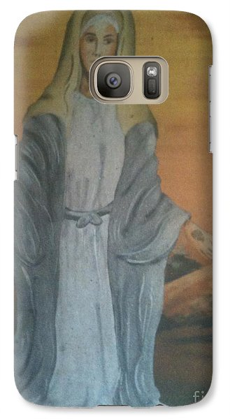 Galaxy Case featuring the photograph Peace Be Unto You by Fania Simon