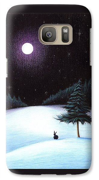 Galaxy Case featuring the drawing Peace by Danielle R T Haney