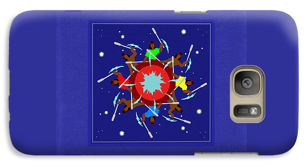 Galaxy Case featuring the photograph Peace Drum by I'ina Van Lawick