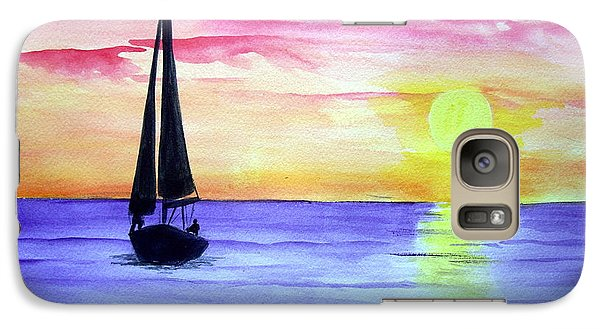Galaxy Case featuring the painting Peace by Ellen Canfield