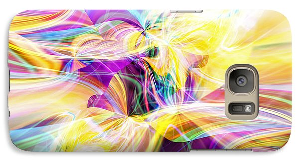 Galaxy Case featuring the digital art Peace by Margie Chapman