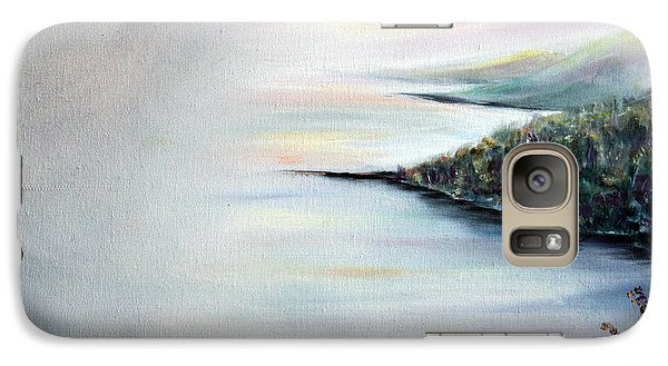 Galaxy Case featuring the painting Peace by Meaghan Troup