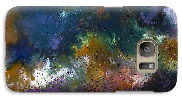 Galaxy Case featuring the painting Peace by Min Zou