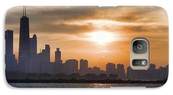 Galaxy Case featuring the photograph Peaceful Chicago by John Hansen