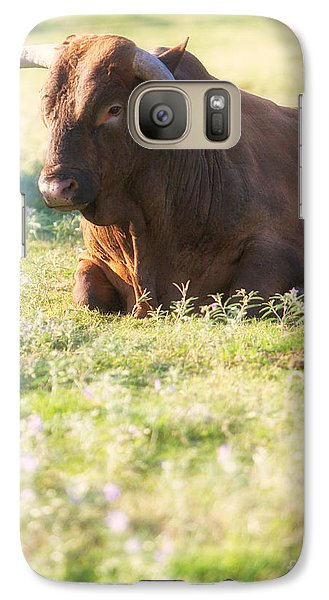 Galaxy Case featuring the photograph Peaceful by Erika Weber