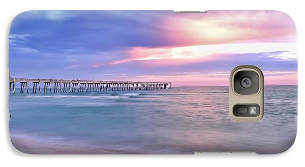 Galaxy Case featuring the photograph Peaceful Evening At The Beach by Renee Hardison
