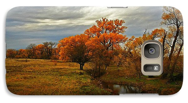 Galaxy Case featuring the photograph Peaceful Getaway by Shirley Heier