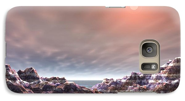 Galaxy Case featuring the digital art Peaceful by Jacqueline Lloyd