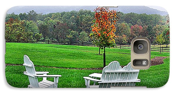 Galaxy Case featuring the photograph Peaceful Spot  by John S