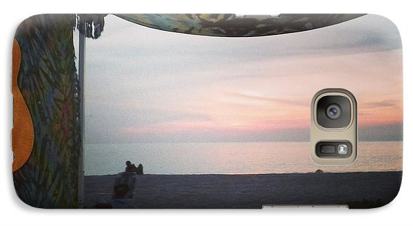 Galaxy Case featuring the photograph Peaceful Makua Evening by Erika Swartzkopf