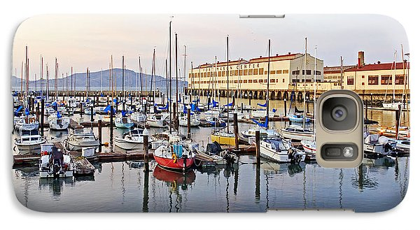 Galaxy Case featuring the photograph Peaceful Marina by Kate Brown