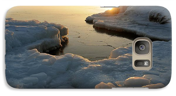 Galaxy Case featuring the photograph Peaceful Moment On Lake Superior by Sandra Updyke