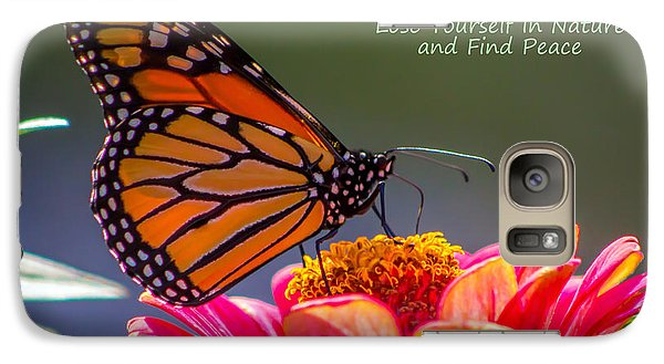 Galaxy Case featuring the photograph Peaceful Nature by Marion Johnson