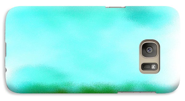 Galaxy Case featuring the digital art Peaceful Noise by Anita Lewis