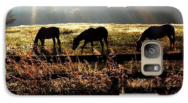 Galaxy Case featuring the photograph Peaceful Pasture by Carlee Ojeda