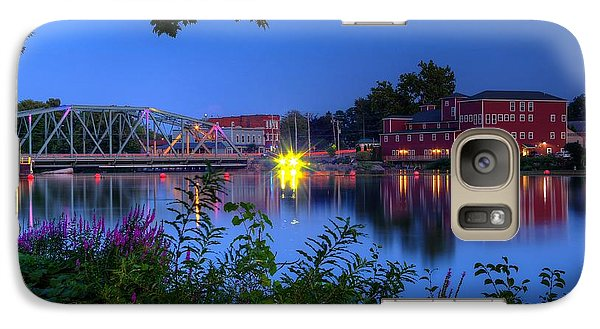 Galaxy Case featuring the photograph Peaceful River by Dave Files