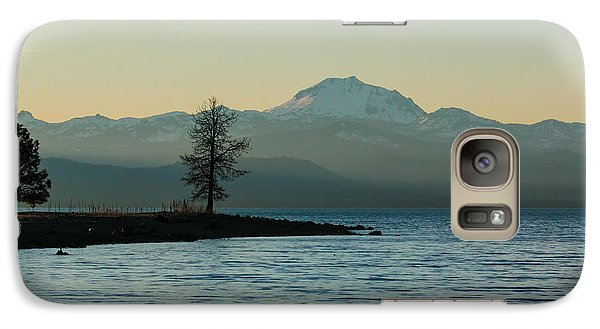 Galaxy Case featuring the photograph Peaceful Views by Jan Davies