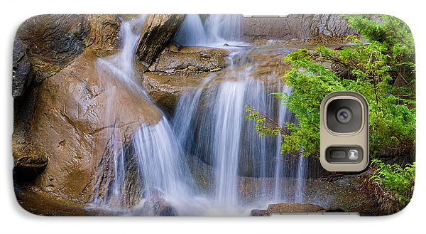 Galaxy Case featuring the photograph Peaceful Waterfall by Jordan Blackstone